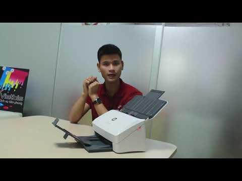 Unbox, tìm hiểu về máy scan HP 3000 s3
