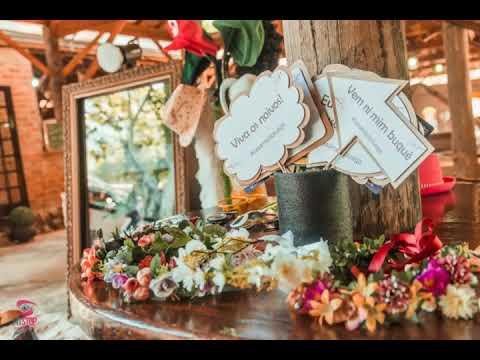 Espelho Mágico casamento no Campo