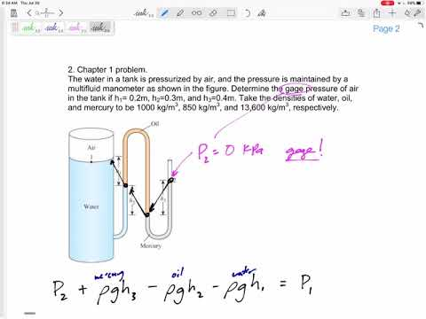 Thermodynamics - Final Exam Review - Chapter 1 problem - YouTube