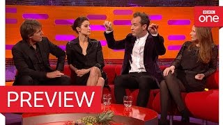 Tom Cruise and Jude Law discuss holding their breath - The Graham Norton Show 2016 - BBC One