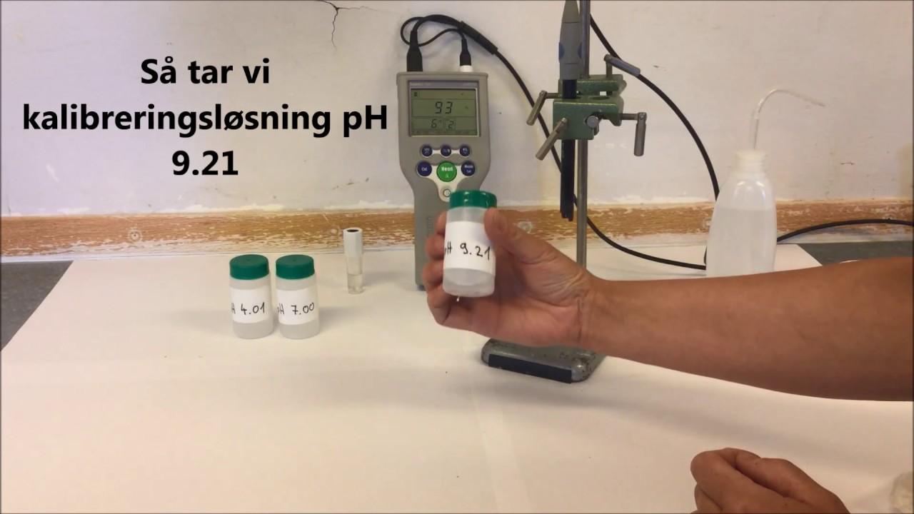 pH-måling av jord