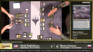 World Magic Cup 2014 Quarterfinals (Unified Standard): United States vs. Slovak Republic