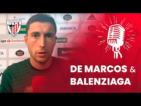 🎙 Mikel Balenziaga eta Oscar de Marcos I RC Celta 1-0 Athletic Club I post-match