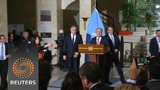 """UN chief Guterres says Cyprus talks show progress but no """"quick fix"""""""