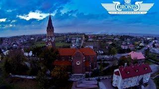 preview picture of video '2014-10-21 Libiąż widok na miasto z lotu ptaka - Kościół | HD'