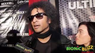 William DuVall from Alice in Chains Interview at NAMM Night 2019