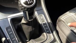 Работа кнопки SET! в VW Golf 7