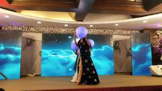 Surprise Bride Solo | Nazm Nazm | Afreen | Sau asmano ko| Dance GE
