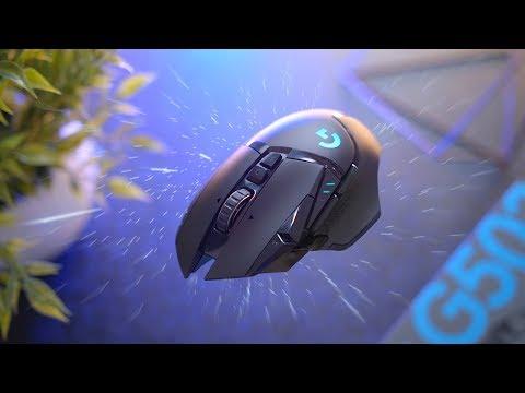 External Review Video hfbEDNRj9zw for Logitech G502 LIGHTSPEED Wireless Gaming Mouse (910-005565)