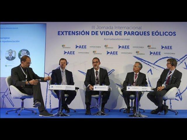 Vídeo resumen III Jornada Internacional sobre Extensión de Vida de Parques Eólicos