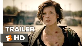 Resident Evil The Final Chapter Official Trailer 1 2017  Milla Jovovich Movie