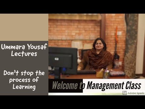 Course outline Principles of Management