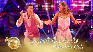 Charlotte Hawkins & Brendan Cole Jive to 'Marry You' by Bruno Mars - Strictly 2017
