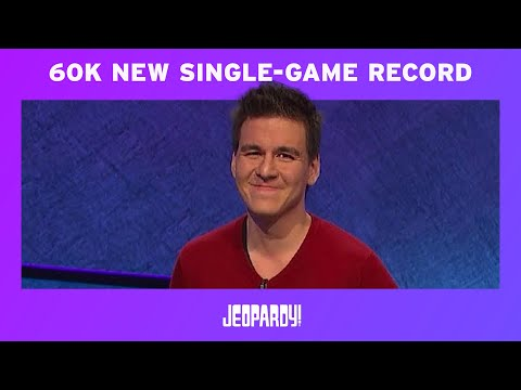James Holzhauer wins $131k on Jeopardy in one game