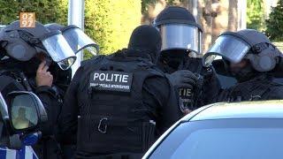 Arrestatieteam standby voor verwarde Uithoornaar