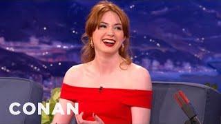 Karen Gillan Interview 9/27/2012   CONAN on TBS