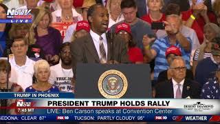 WATCH: Dr. Ben Carson Speaks at President Trump