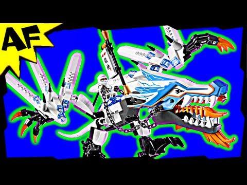 Vidéo LEGO Ninjago 2260 : L'attaque du dragon de glace
