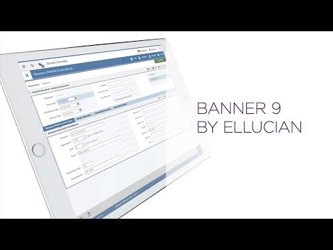 Welcome to Banner 9 by Ellucian - YouTube