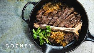 T-Bone Steak with Café de Paris Butter | Roccbox Recipes | Gozney