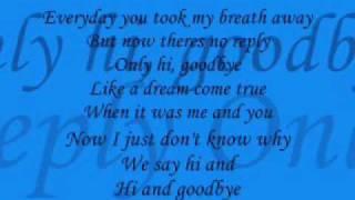 Hi And Goodbye - A*Teens