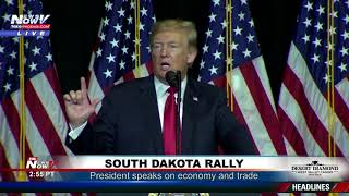 FULL TRUMP SPEECH: President Trump In Sioux Falls, South Dakota