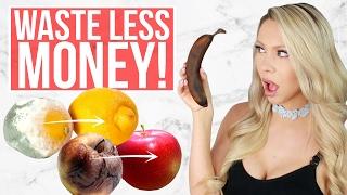 SAVE MONEY! 17 Ways to Keep Your Food Fresh Longer!