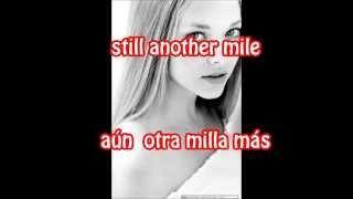 I have a dream - Amanda Seyfried Lyrics (Subtitulada español-inglés)