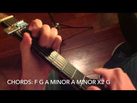 How to play Stitches Shawn Mendes on guitar
