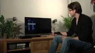 Installatie TV Van KPN Op Een Sony LCD TV Interactieve TV + Digitenne TV
