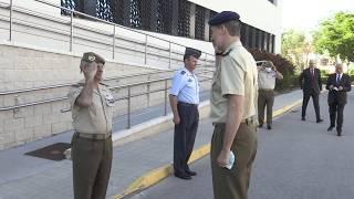 Videoconferencia de Su Majestad el Rey con el Mando de Operaciones con motivo del Día de las Fuerzas Armadas