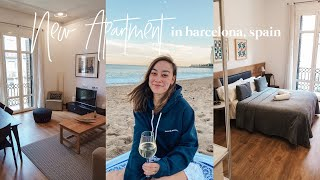 MOVED INTO THE NEW APARTMENT IN BARCELONA, FINALS WEEK, + FLYING HOME