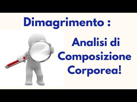 Dimagrimento : analisi di composizione corporea!
