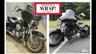 Custom Harley Bagger Under 5K // Finished Harley // Thats A Wrap!