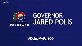 Governor Polis gives Colorado coronavirus update
