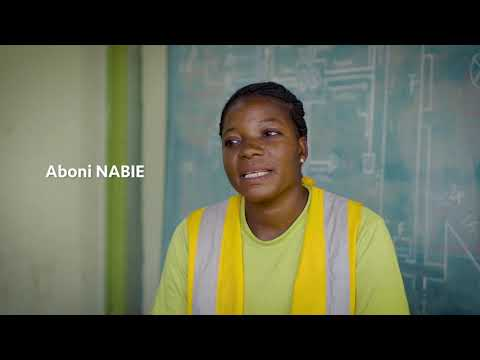 Des jeunes apprentis du secteur de la construction au Burkina Faso racontent leur parcours. Le témoignage d'Aboni