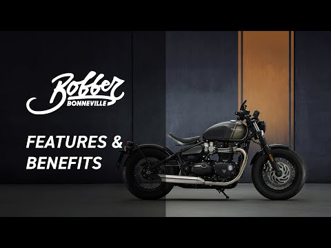 2022 Triumph Bonneville Bobber in Iowa City, Iowa - Video 1