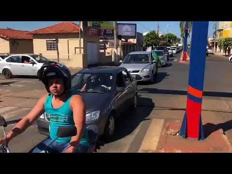 Aparecida do Taboado manifestou apoio à greve dos caminhoneiros durante grande carreata (Parte 01)