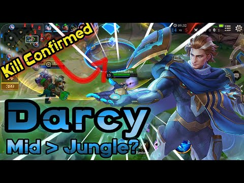 Darcy mid better than jungle?!🎤Full commentary🎙️ | Arena