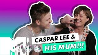 Caspar Lees Mum Reveals The Last Time He Cried!! L MTV Life