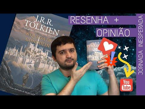 A QUEDA DE GONDOLIN I JRR TOLKIEN I Edição de Christopher Tolkien I Harper Collins I #2018