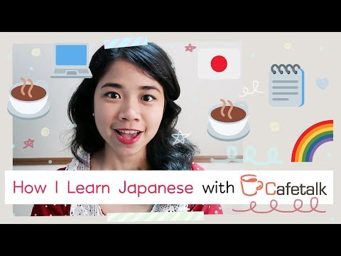How I Learn Japanese Through Online Lessons (Cafetalk Review)   Rainbowholic ☕