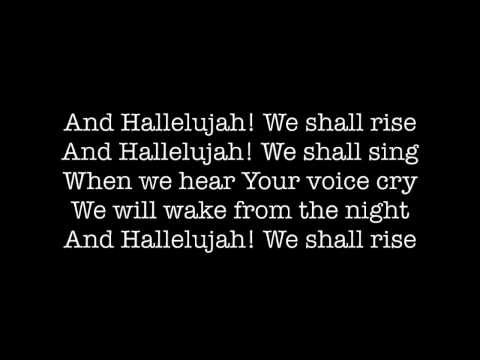 Hallelujah We Shall Rise Lyrics