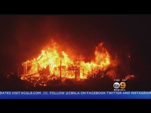 Raging Thomas Fire Triggers New Evacuation Orders For Montecito, Carpinteria