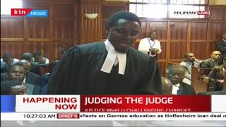 Judging the Judge: Justice Mwilu case hearing ongoing