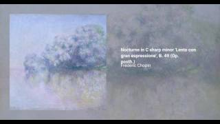 Nocturne in C-sharp minor 'Lento con gran espressione', B. 49 (Op. posth.)
