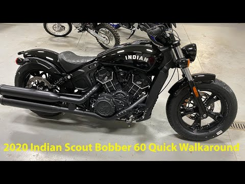 2020 Indian Scout® Bobber Sixty in Ottumwa, Iowa - Video 1