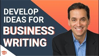 Business Writing: Developing Great Ideas ft. Daniel Pink