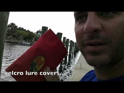 yakntexas-  EASY WAY TO CARRY PLUGS and hooks.. LURE WRAPS ! TACKLE TACO!!!! kayak fishing how to