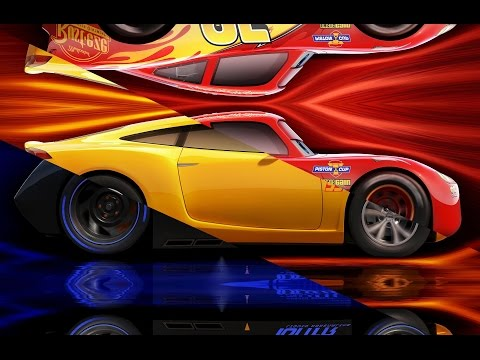 Disney Cars 3 Lightning McQueen Cruz Ramirez Jackson Storm - Learn Colors | Learning Video For Kids